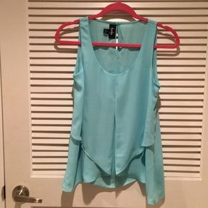 Light Blue Blouse (With Tags)